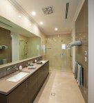 Floor - Pietra Royale Lipica Beige Lappato 350x350<div>Wall - Pietra Royale Lipica Beige 350x700</div><div>Feature - Pietra Royale Lipica Anya Grey 350x1000<br /></div>